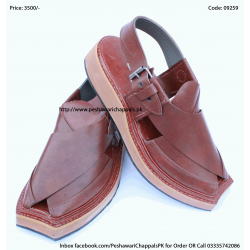 Realistically Priced Completely Hand Stitched Brown Kaptaan Chappal