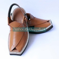 Charsadda Kaptaan Chappal with Iconic Design and Style