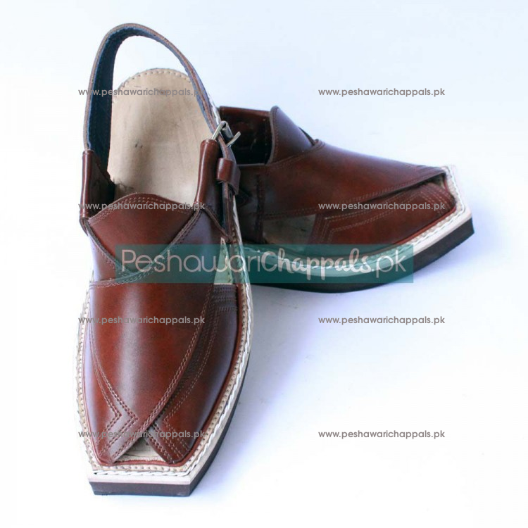 Elegant Charsadda Kaptaan Chappal for Those who Demand Luxury