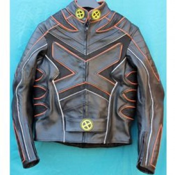 Handmade New X-men 2 United Leather Jacket For Men