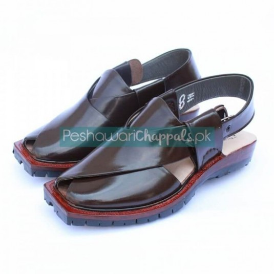 Perfect Brown Quetta Norozi Chappal