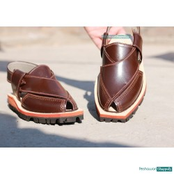 Dark Brown Quetta Norozi Chappal